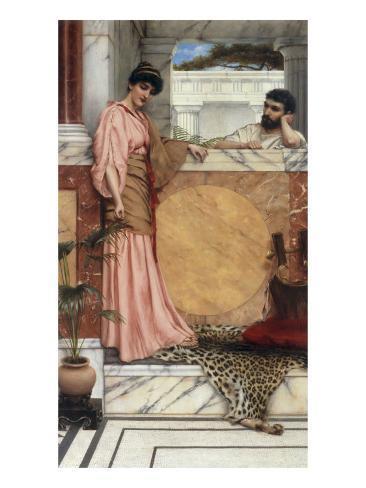 Waiting for an Answer, 1889 Lámina giclée