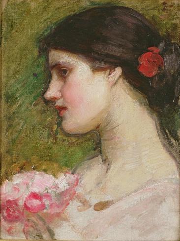 Camellias, C.1880 Lámina giclée