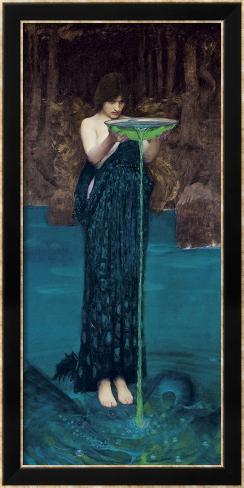 Circe Invidiosa, 1892 Framed Art Print