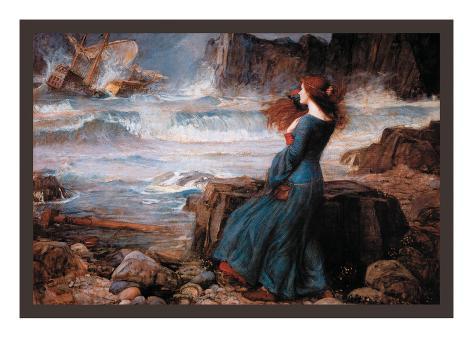 Miranda and the Tempest Impressão artística