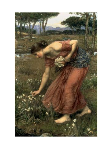 Narcissus, 1912 Lámina giclée