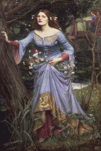 Ophelia, 1910 Lámina giclée