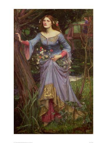 Ophelia, 1910 Art Print