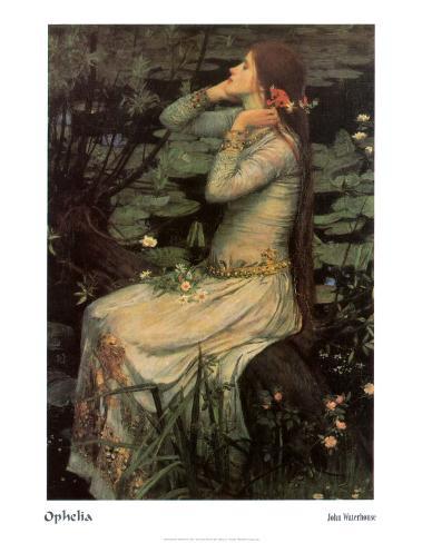 Ophelia, c.1894 Art Print