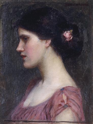 Portrait of a Girl Lámina giclée