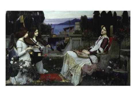 Saint Cecilia Lámina giclée