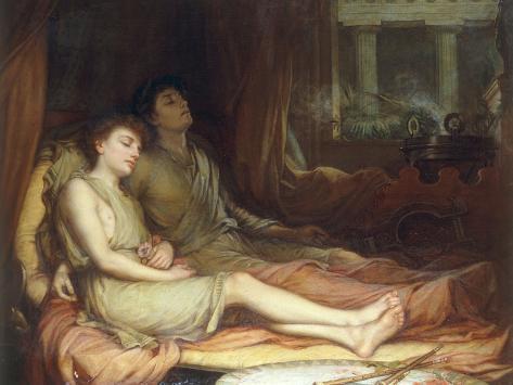 Sleep and his Half-Brother Death Lámina giclée