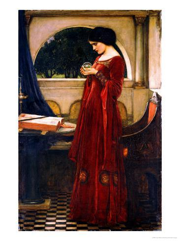 The Crystal Ball, 1902 Lámina giclée