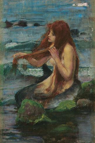 The Mermaid, 1892 Giclee Print