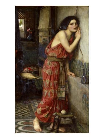 Thisbe' or 'The Listener', 1909 Lámina giclée