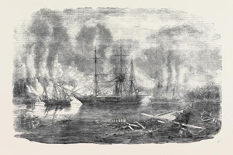 The Bulldog and Starling Intercepting Trading Vessels Lámina giclée