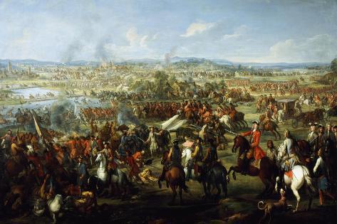 Battle of Blenheim, August 13, 1704 Giclee Print