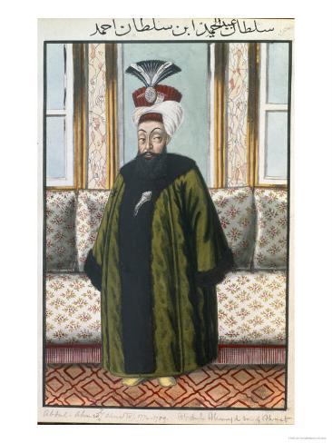 Abdul Hamid I Giclee Print