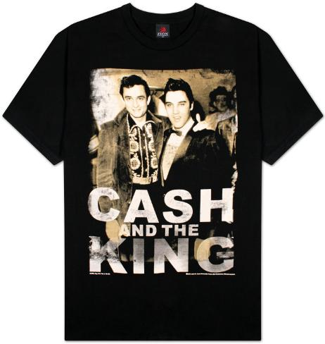 Johnny Cash - Cash & King T-Shirt