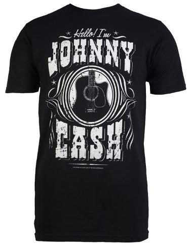 Johnny Cash - Hello I'm Johnny Cash T-Shirt