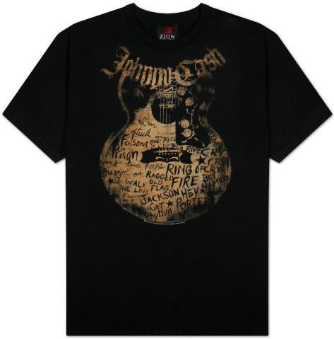 Johnny Cash - Songs T-Shirt