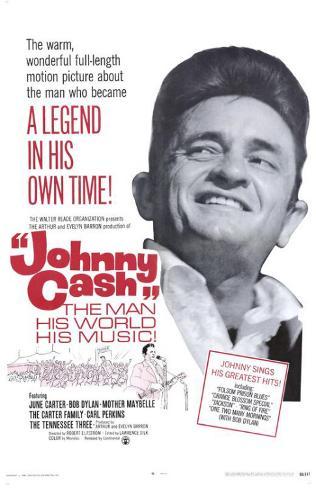Johnny Cash Masterprint