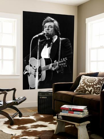 Johnny Cash Giant Art Print