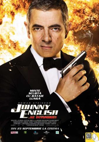 Johnny English Reborn - Romanian Style Poster