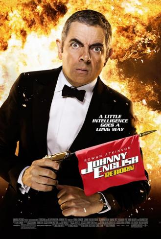 Johnny English Reborn Double-sided poster