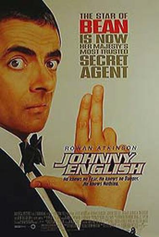 Johnny English Original Poster