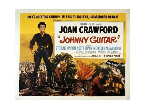 Johnny Guitar Art Print