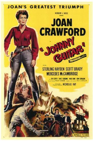 Johnny Guitar Masterprint