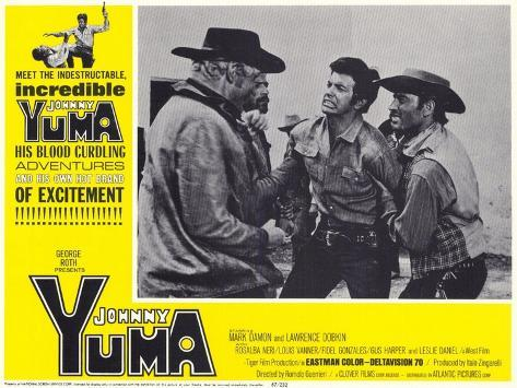 Johnny Yuma, 1967 Konstprint