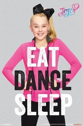 Jojo Siwa Eat Dance Sleep Print Allposters Ca