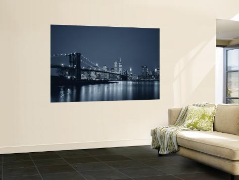 Brooklyn Bridge, New York, USA Wall Mural