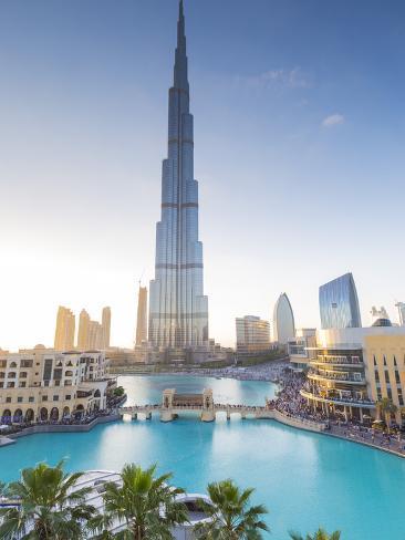 Burj Khalifa Worlds Tallest Building Downtown Dubai United