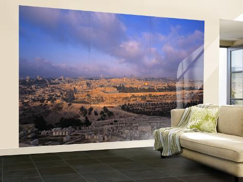 Old City, Jerusalem, Israel Wall Mural – Large