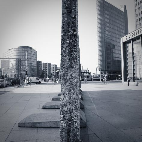 Remaining Sections of the Berlin Wall at Potsdammer Platz, Berlin, Germany Photographic Print