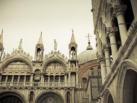 San Marco Basilica, Piazza San Marco, Venice, Italy Photographic Print