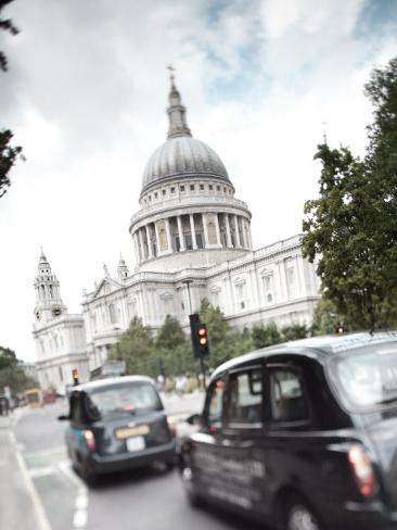 St, Paul's Cathedral, London, England Photographic Print