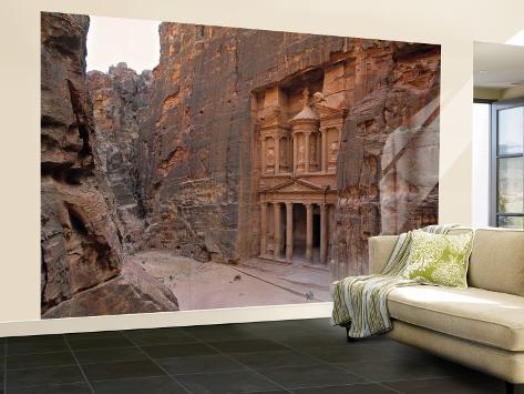The Treasury, Petra, Jordan Wall Mural – Large