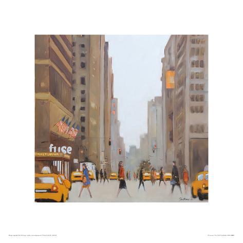7th Avenue - New York Giclee Print