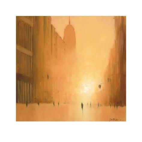 Morning Light, 5th Avenue Art Print