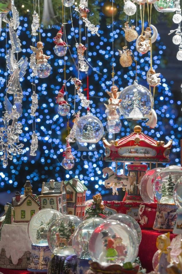 christmas ornaments for sale in the verona christmas market italy photographic print by jon hicks at allposterscom