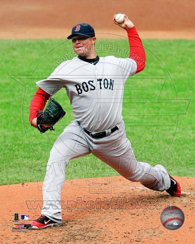 Jon Lester 2011 Action Photo