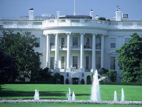 Exterior of White House, Washington, DC Photographic Print