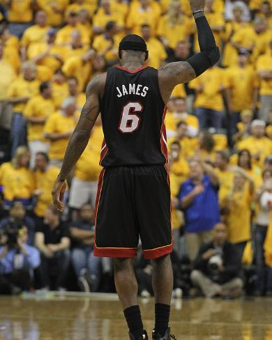 Indianapolis, IN - May 24: Miami Heat and Indiana Pacers - LeBron James Photo