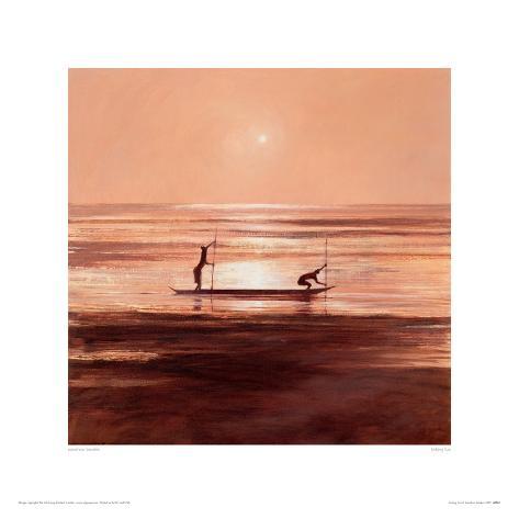 Sinking Sun Stampa giclée