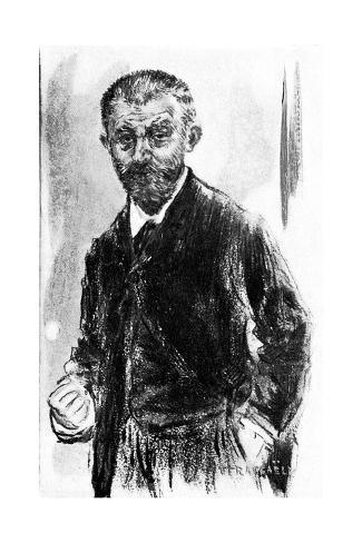 Joris-Karl Huysman Lámina giclée