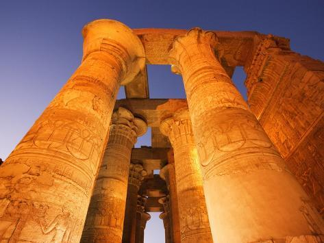 Kom Ombo Temple Photographic Print