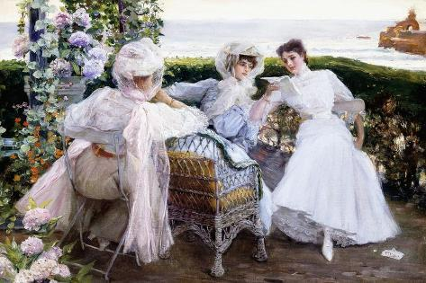 The Letter, C.1903-1910 Giclee Print