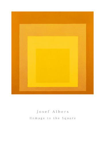 Homage To The Square Art Print