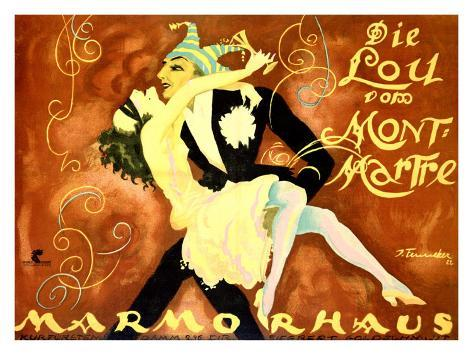 Carnival at Marmorhaus Giclee Print