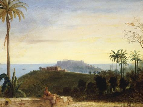 Fort George Granada from Hyde Park Giclee Print