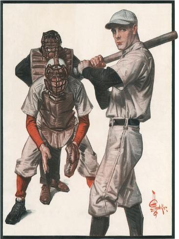 Baseball, 1915 Giclee Print